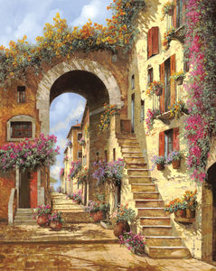 Guido Borelli — Le scale dell'arco