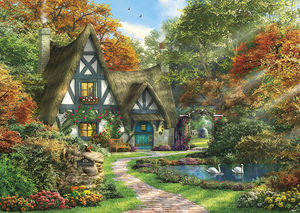 The autumn cottage