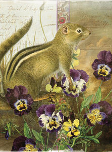 Whimsical Animals chipmunk