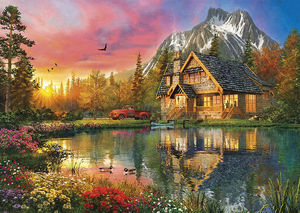 The mountain cabin